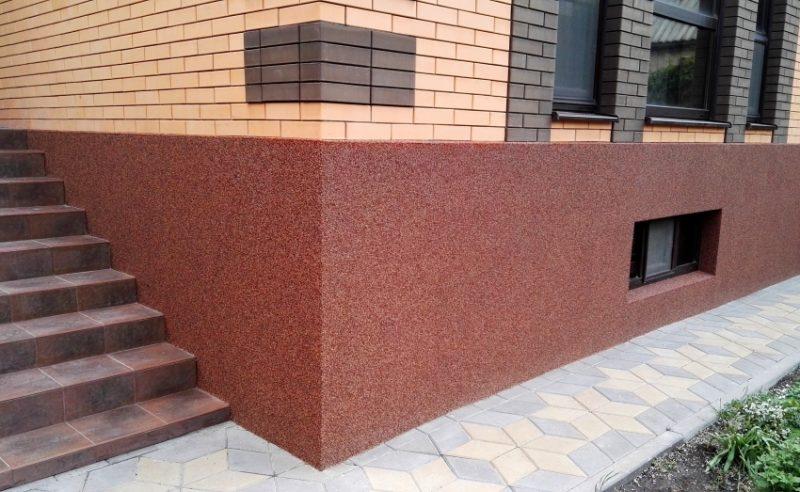 Наша работа отделка цоколя частного дома фото Мокрый фасад Екатеринбург